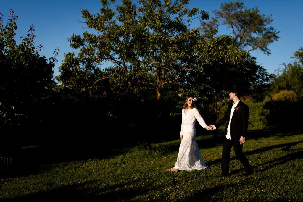 Bohémien elopement at Relais Ortaglia
