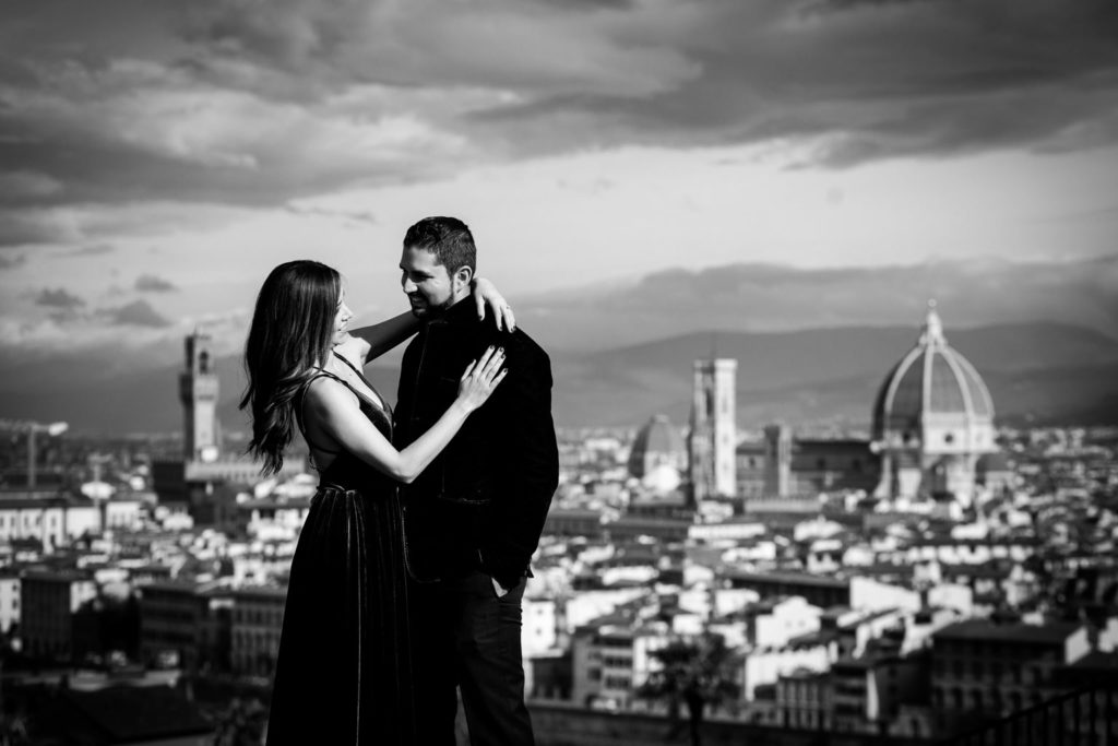 foto di fidanzamento a Firenze